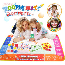 Load image into Gallery viewer, Funny Magic Water Drawing Coloring Book Doodle Mat