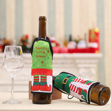 Load image into Gallery viewer, Pets Inspired Holiday Wine Wrap
