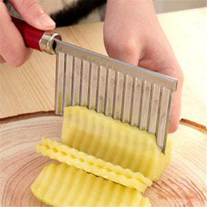 New Stainless Steel Potato Chips Chopper