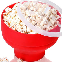 Load image into Gallery viewer, Popcorn Microwave Silicone Foldable  Bowl