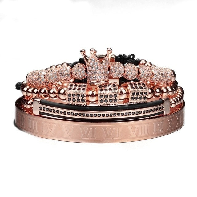 4Pcs/Set Crown Jewels
