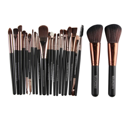 22 Piece Cosmetic Make Up Brush Set