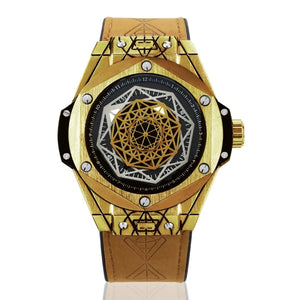 Chic Gentleman Geometry Watch