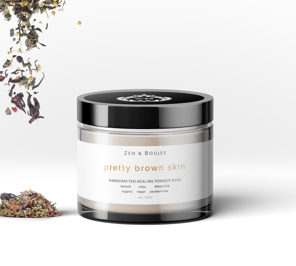 PRETTY BROWN SKIN HEALING POWDER MASQUE