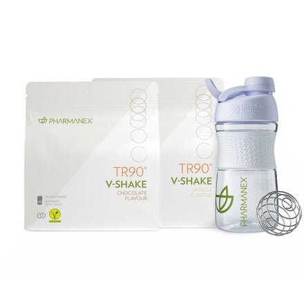 TR90 Start Up KIT - zwei V-Shakes & ein Shaker - Nu-Skin