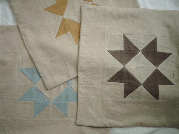 Ribbon Star Quilted Sham