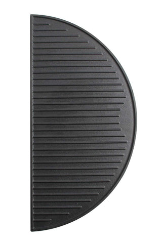18'' Cast Iron Griddle Reversible Half Moon