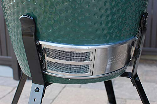 Dracarys Draft Door Screen Replacement Parts for Big Green Egg Parts Replacement,Big Green Egg Accessories Stainless Steel Applied to Grill Draft Door Fit for Large and Medium Big Green Egg - mydracas