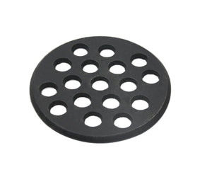 Round cast iron grate,Dracarys bbq high heat charcoal plate fit for big green egg small grate and mini kamado joe grill charcoal replacement parts fire cooking grate green egg accessories-5.5inch SFGC - mydracas