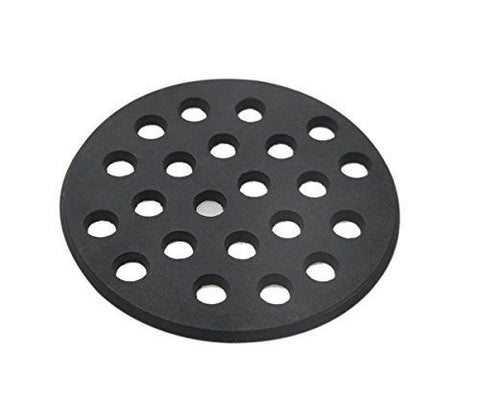 "Dracarys Big Green Egg Cast Iron Fire Grate 6.5"" Fit for Medium BGE and Kamado Joe - mydracas"