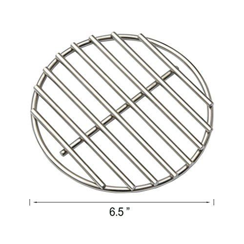 Dracarys BBQ High Heat Stainless Steel Charcoal Fire Grate Fits for Medium Big Green Egg--6.5 - mydracas