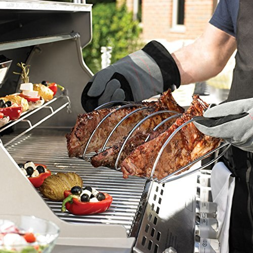 Dracarys Rib Rack,BBQ Rib Rack For Smoker Stainless Steel Rib Roast Rack For Large.... - mydracas