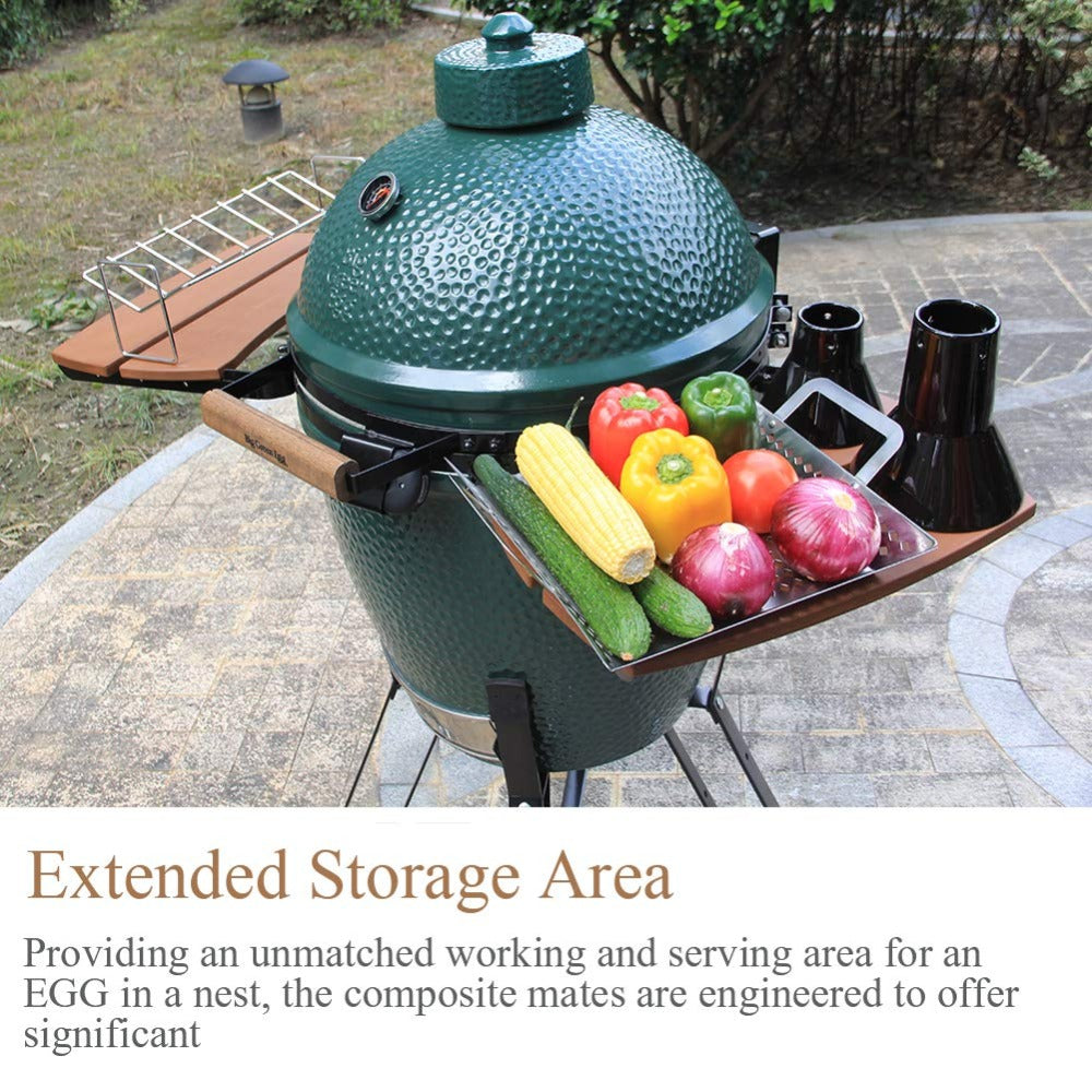 Wondrous Dracarys Grill Hdpe Shelves Egg Mate Bbq Woodenfit For Large Complete Home Design Collection Barbaintelli Responsecom