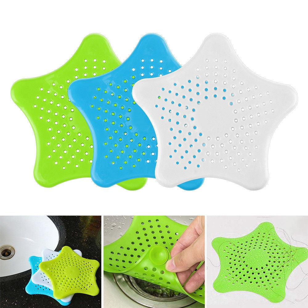 Rubber Circle Silicone Sink Strainer Filter Water Stopper Floor Drain Hair Catcher Bathtub Plug Bathroom Kitchen Basin Stopper#F