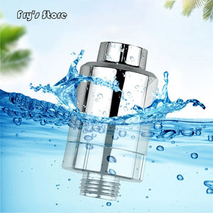 New Water Purifier Output Universal Shower Filter Activated Carbon Household Kitchen Faucets Purification Home Bathroom