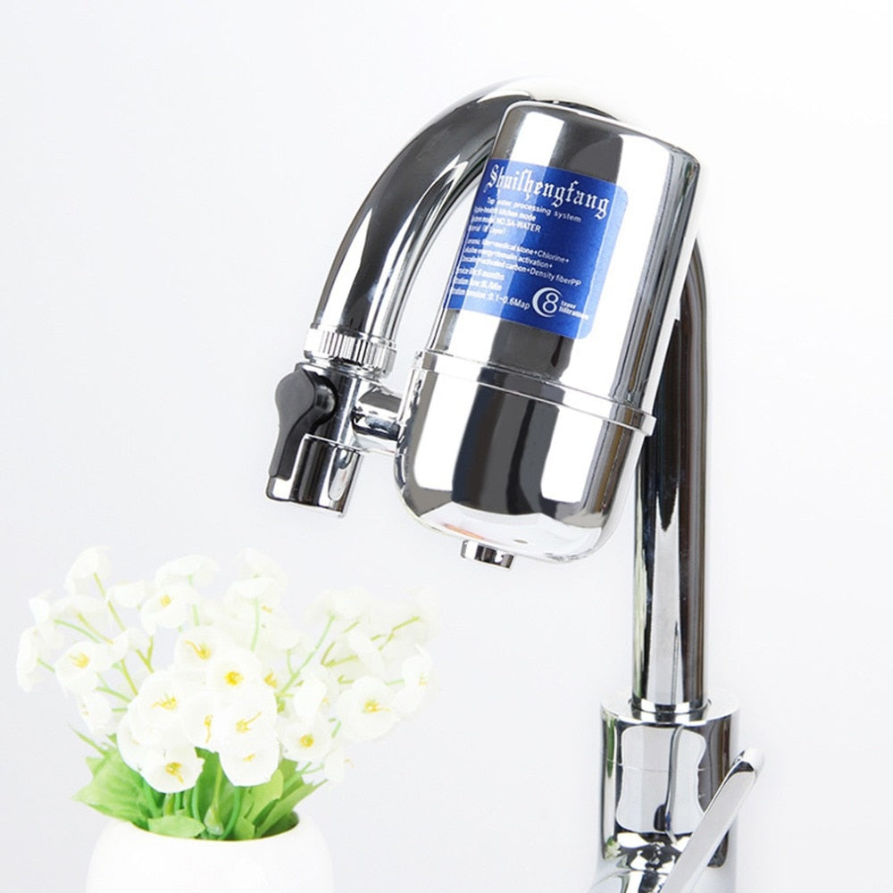 6L Household Kitchen Tap Water purifier Water Filter For Kitchen Health Front Activated Carbon Faucet Drinking filtro de agua