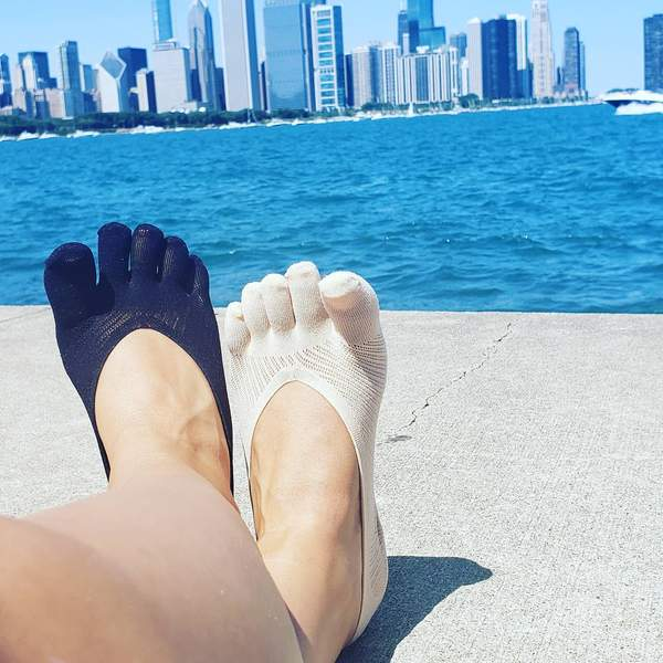 Toe Socksana Day in Chicago