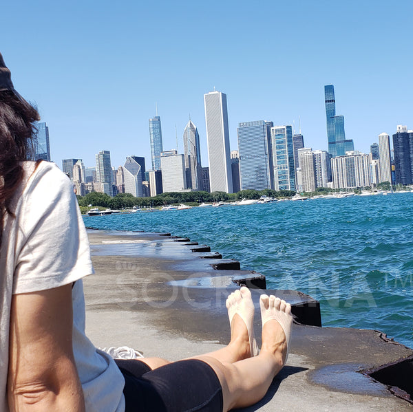 Women Toe Socks Chicago USA