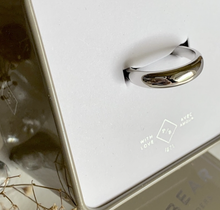 "Load image into Gallery viewer, ""TUYA"" DOME RING IN STERLING SILVER"