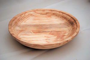A Beautiful Piece of Spalted Beech Wood Hand Turned into this Delightful Bowl