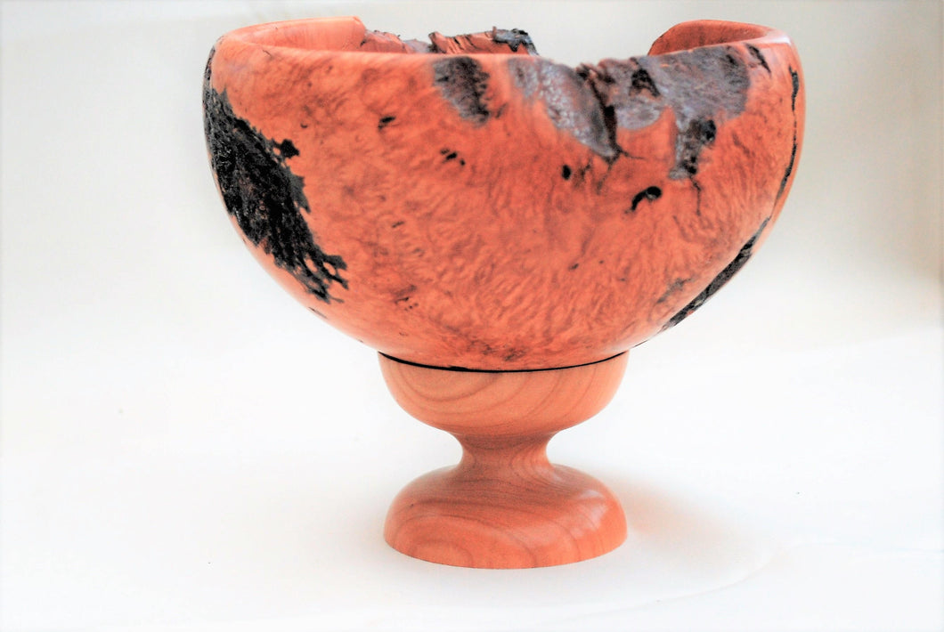 An Amazing piece of Hand Turned and Polished Briar Burr transformed into a Unique Bowl