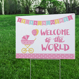 Welcome Baby Yard Signs