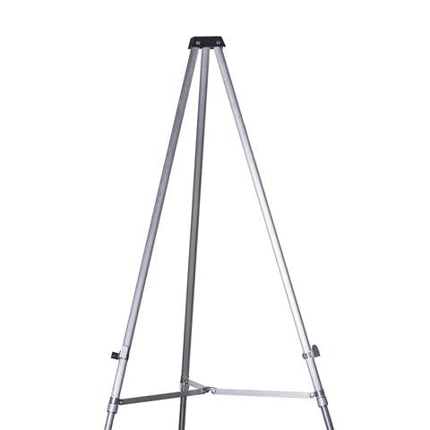 telescoping meeting sign easel