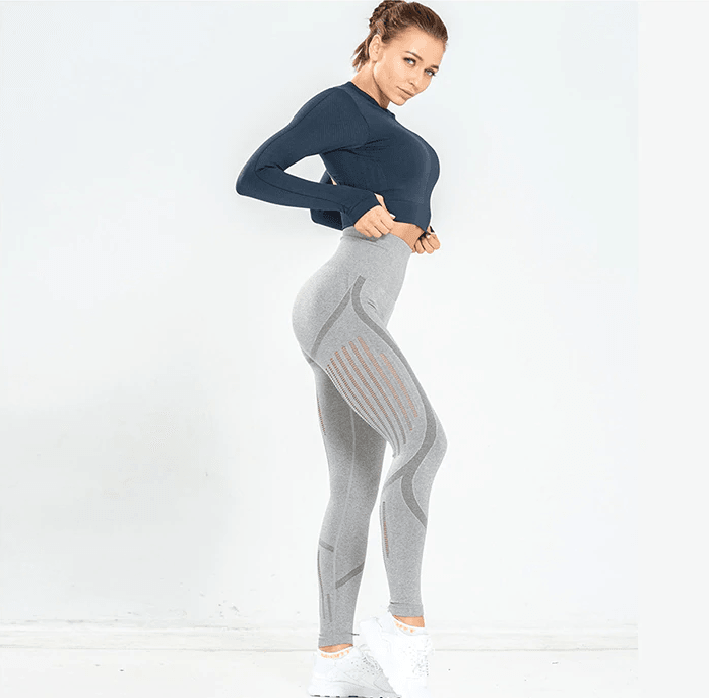 Pantalon Push Up Jogging Profil - Gris