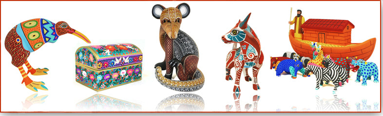 "Oaxacan Communities Where ""Alebrijes"" Wood Carvings Come Alive"