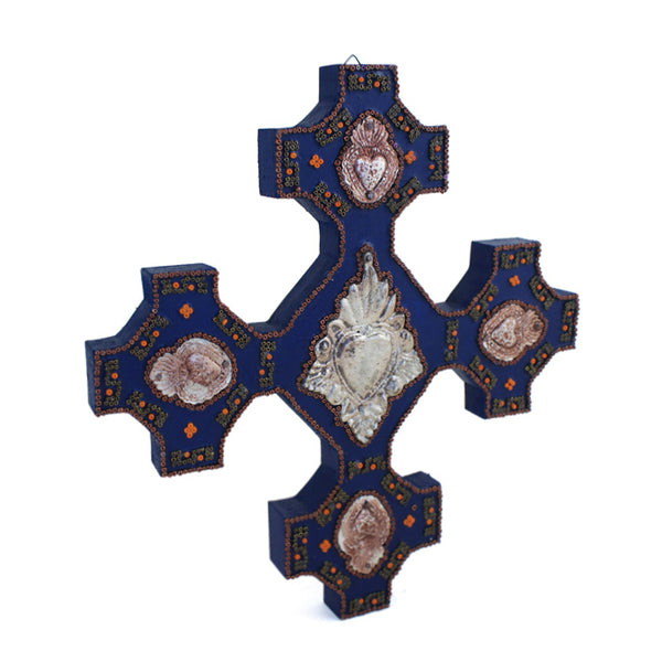 Milagros & Beads Cross
