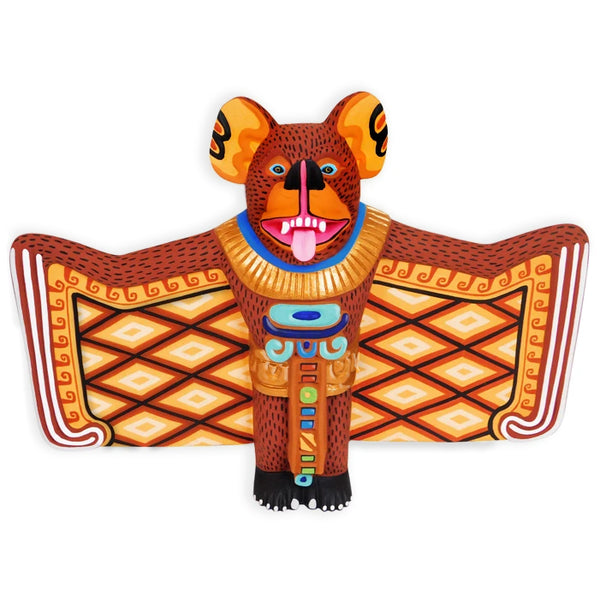 Luis Pablo: Wall Hanging Aztec Bat God