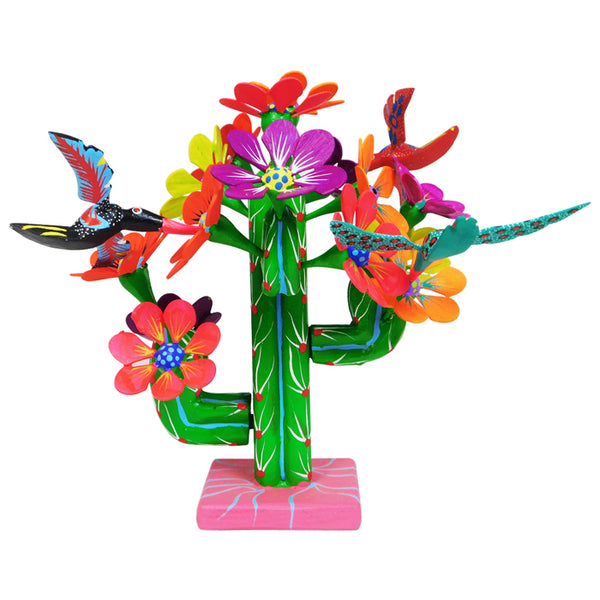 Cruz Sosa Family: Cactus with Hummingbirds