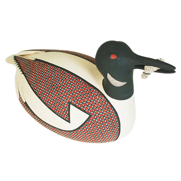 Jerardo Tena: Loon Duck with Fish