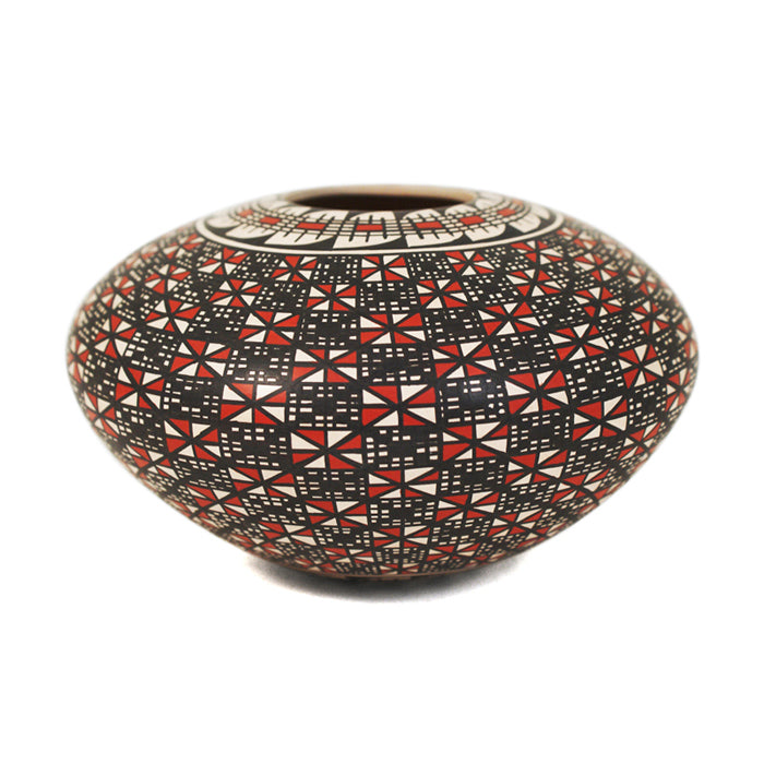 Rosa Loya: Geometric Art Seed Pot