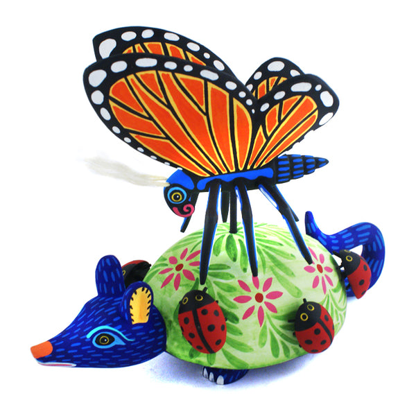 Luis Pablo: Armadillo with Butterfly