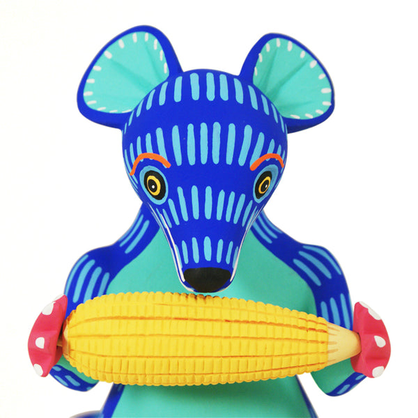 Luis Pablo: Mouse Savoring His Corn on the Cob