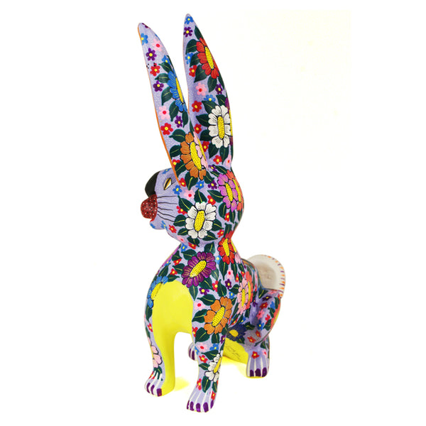 Maria Jimenez: Flowers Rabbit