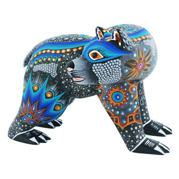 Luis & Margarita Sosa: Blue Bear