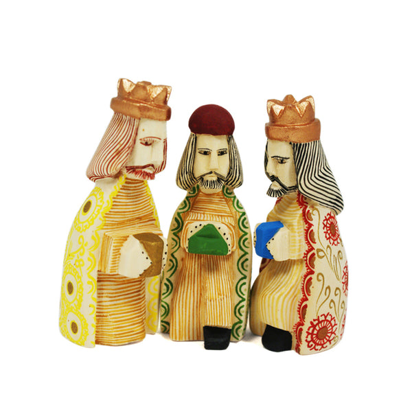 Justo Xuana: Small Nativity Creche