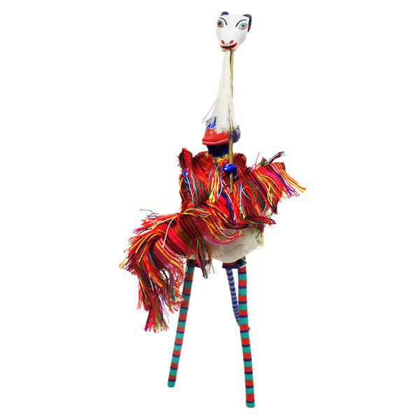 Martin Melchor: Duck on Stilts with Goat Mask