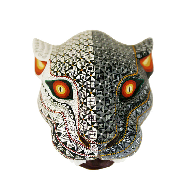 David Hernandez: Day and Night Jaguar Mask