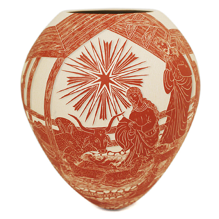 Adrian Corona: Nativity Olla
