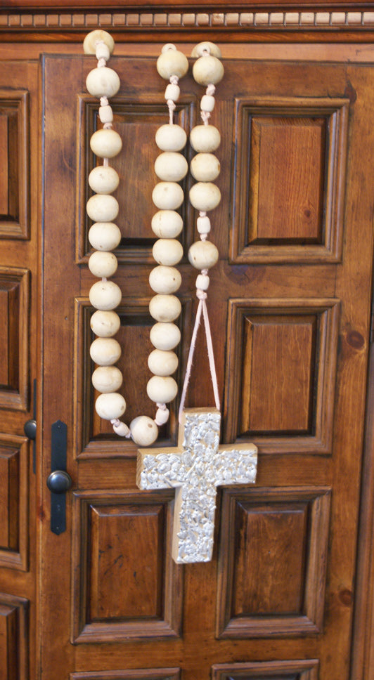 Milagros Cross: Rosary