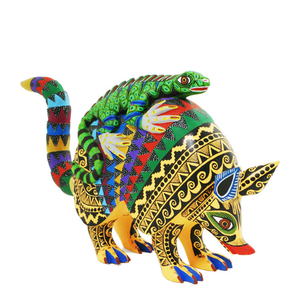 Lauro Ramirez: Armadillo and Lizard