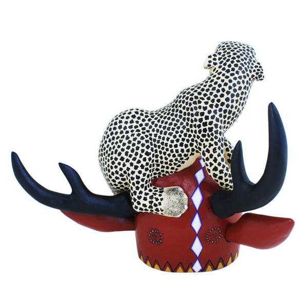 Justo Xuana:  Jaguar on Deer