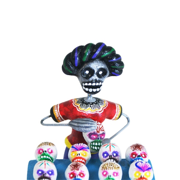 Saul Montesinos: Sugar Skull Vendor