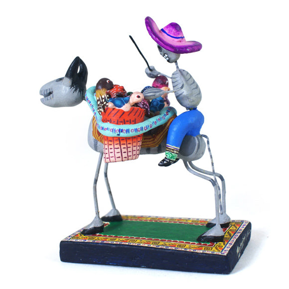 Saul Montesinos: Donkey with Baskets