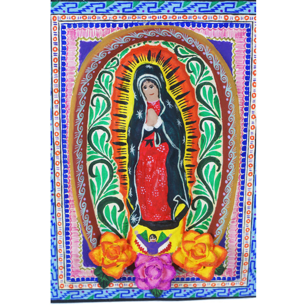 Saul Montesinos: Mosaico Virgen
