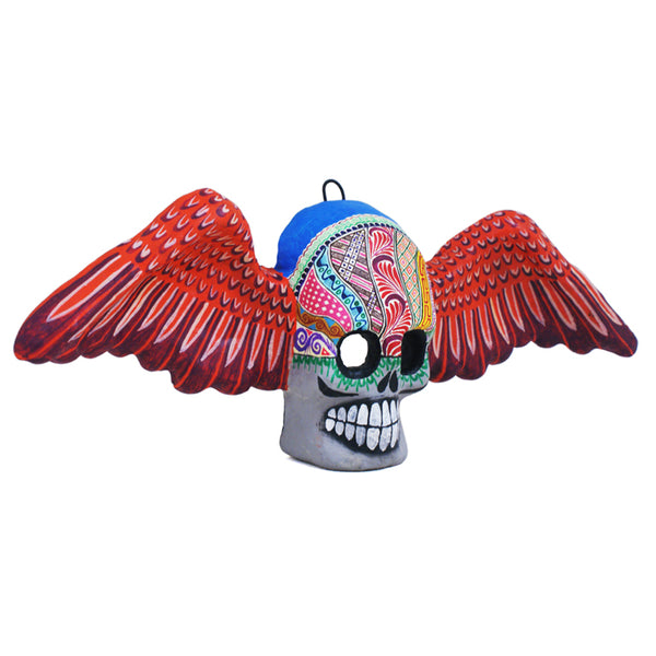 Saul Montesinos:  Angel Wings Skull