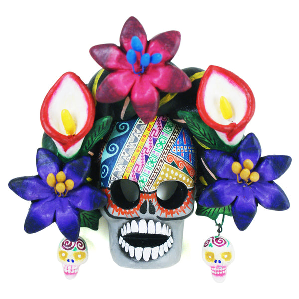 Saul Montesinos: Flower Skull